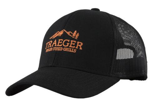 "Pet Zwart ""Traeger Logo"" - Verstelbaar"