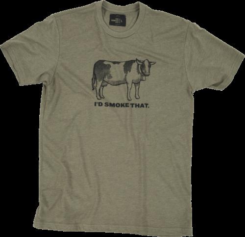T-shirt - I'd Smoke That Cow