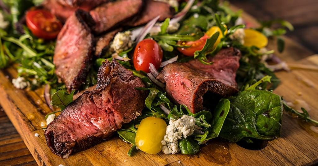 Gegrilde Steak salade